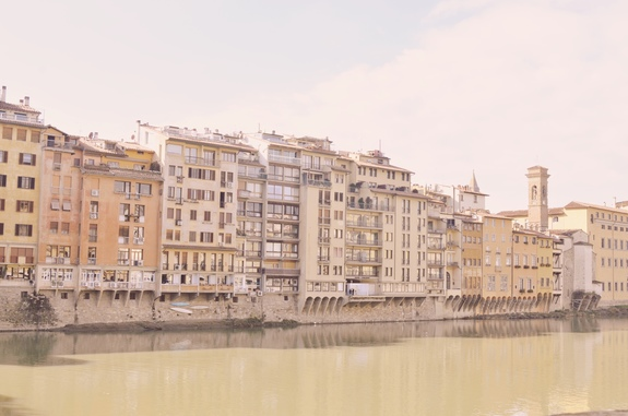 2 days in Florence Arno river