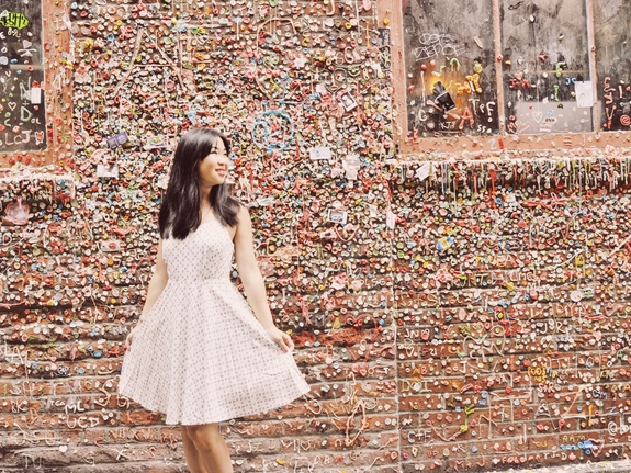 Things to do in Seattle - Pike Place gum wall