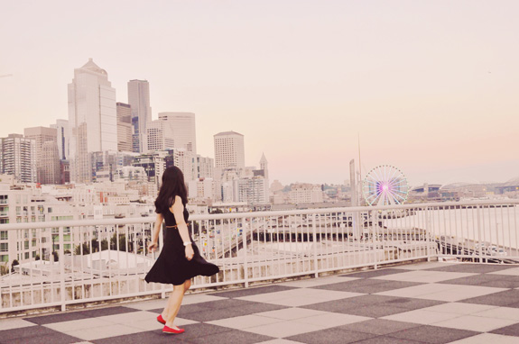 Things to do in Seattle - view of waterfront from pier 69