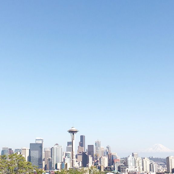 Things to do in Seattle - view from Kerry Park