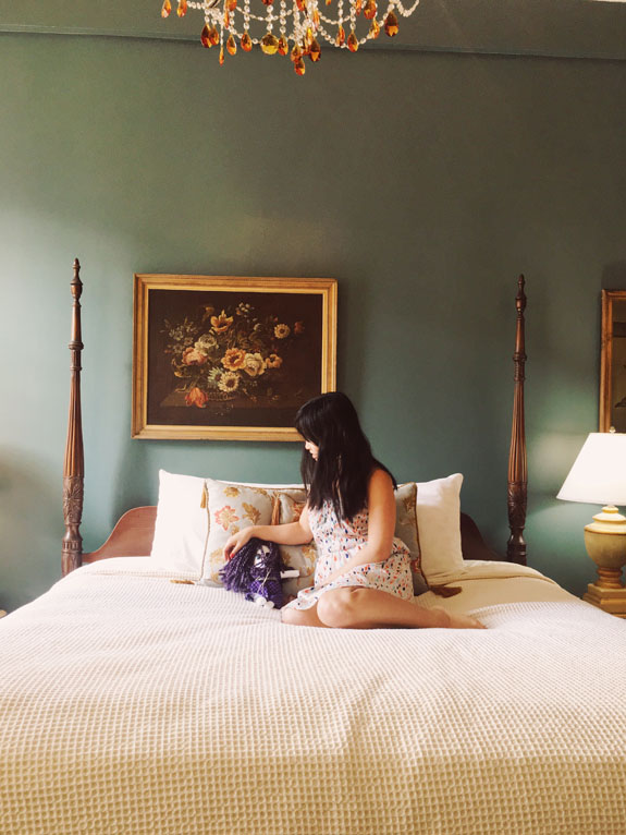 Where to Stay in New Orleans Hotel Maison de Ville room bed