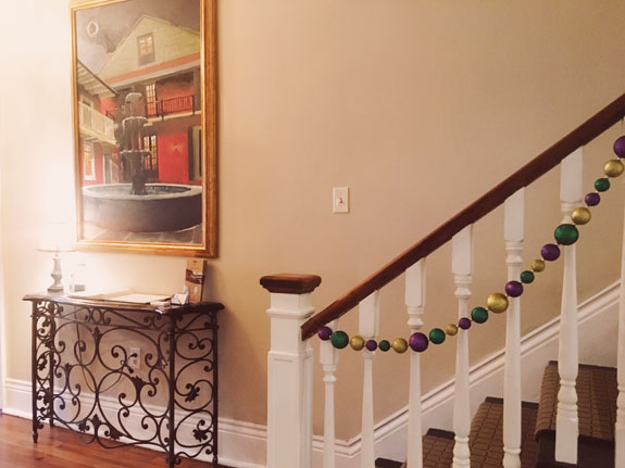 Where to Stay in New Orleans Hotel Maison de Ville foyer