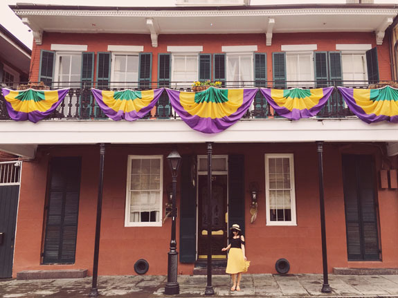 Where to Stay in New Orleans Hotel Maison de Ville exterior