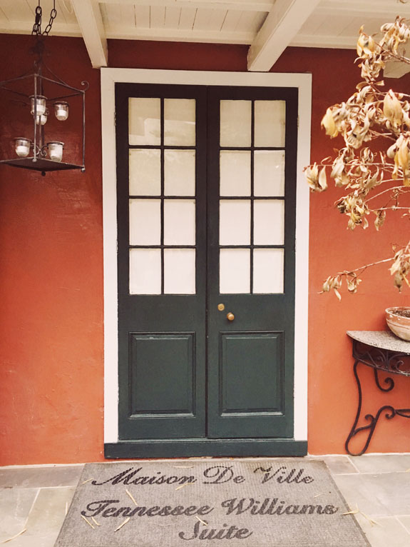 Where to Stay in New Orleans Hotel Maison de Ville Tennessee Williams suite