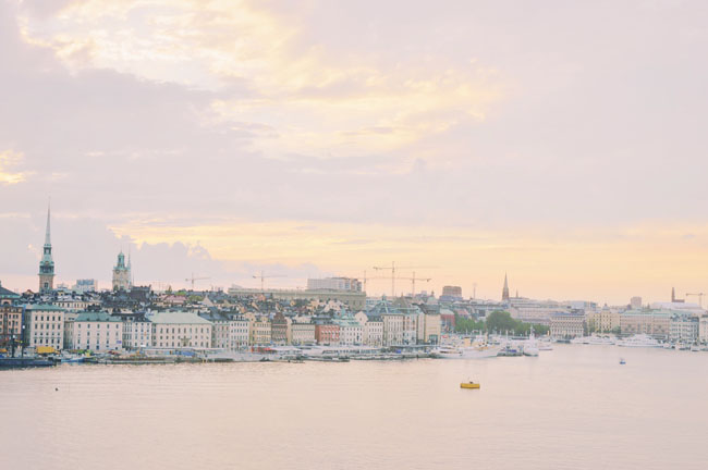 Best Stockholm Instagram Spots - view of city from Fjallgatan