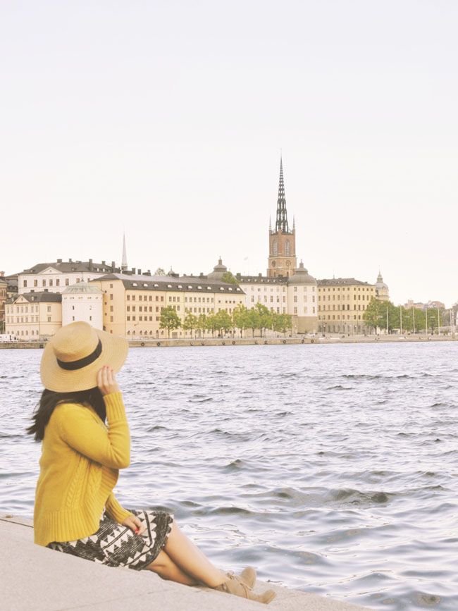 Best Stockholm Instagram Spots - view of Gamla Stan from City Hall
