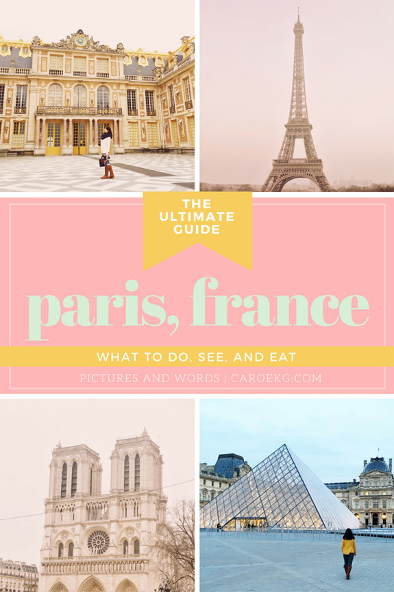 Places to visit in Paris in 2 days: what to do and see, where to stay, what to eat + drink, and more!