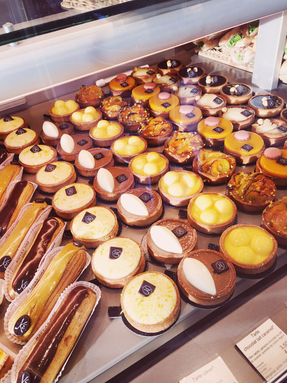 where to eat in paris pastries from eric kayser