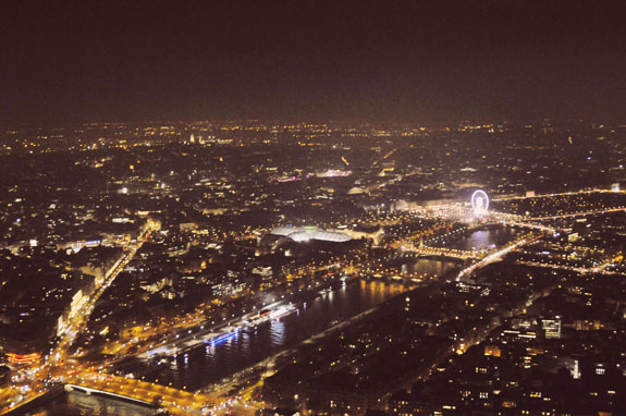 places to visit in paris in 2 days view from eiffel tower