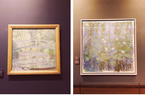 places to visit in paris in 2 days musee l'orangerie monet paintings