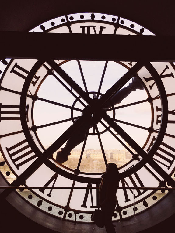 places to visit in paris in 2 days musee d'orangerie clock tower