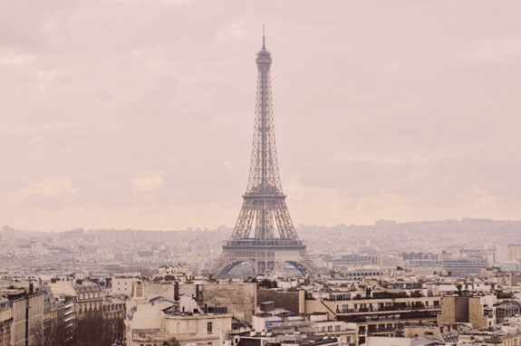 places to visit in paris in 2 days view of eiffel tower from arc de triomphe