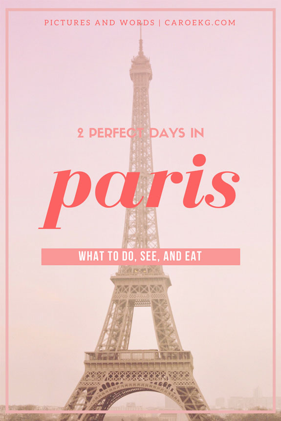 places to visit in paris in 2 days