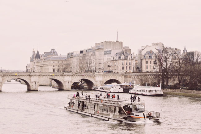 A Seine River Cruise, which is included in the Paris Pass