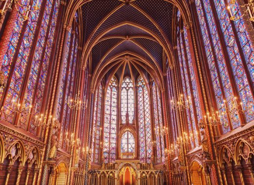 Sainte Chapelle, one of the highlights that make the Paris Museum Pass worth it