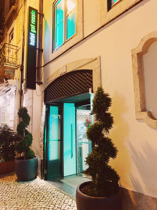 Where to stay in Lisbon - Gat Rooms Rossio - hotel exterior