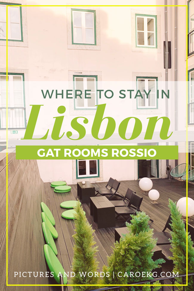 Wondering where to stay in Lisbon? With its prime location, comfort, and hip, modern style, Hotel Gat Rossio is one of the best hotels in Lisbon!