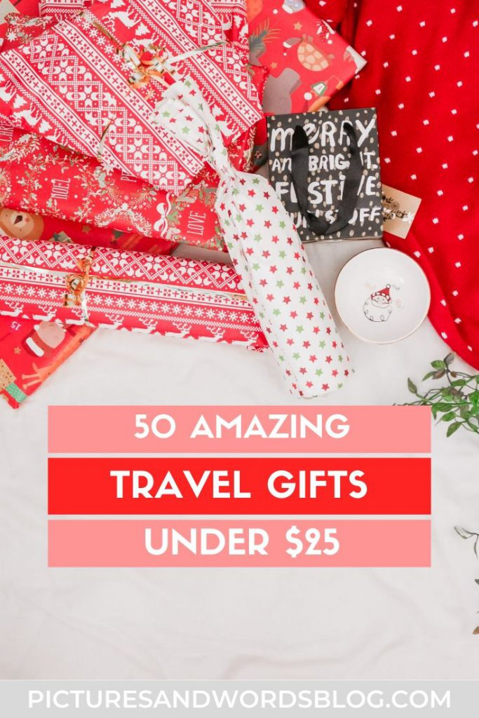 Need to find best travel gifts under $25? This guide will give you over 50 ideas for the best gifts for travelers that they'll love, at an affordable price point!